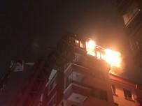 AKPINAR MAHALLESİ - Başkent'te Korkutan Yangın