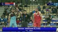 FATİH CENGİZ - Burhan Akbudak, Dünya şampiyonu oldu!