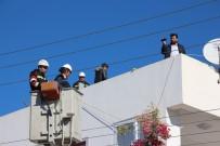 ADLI TıP - Çamaşır Teli Takarken Elektrik Akımına Kapıldı