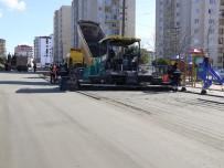 KıZıLPıNAR - Çerkezköy'de Yol Yapım Çalışmaları