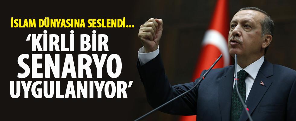 Cumhurbaşkanı Erdoğan: Kirli bir senaryo uygulanıyor