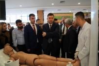 VALİ YARDIMCISI - Diyarbakır'da Meslek Tanıtım Stantları Kuruldu