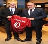 CENGIZ ZÜLFIKAROĞLU - FIFA Başkanı'ndan TFF'ye ziyaret