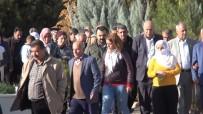CENAZE - HDP'li Vekil Terörist Cenazesine Katıldı