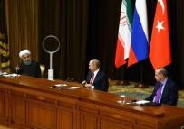 ÜÇLÜ ZİRVE - İran Cumhurbaşkanı Ruhani Açıklaması 'Bu Görüşme Suriyelilerin Tekrar Ülkelerine Dönmesi Amacını Taşıyor'