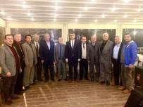 LOKANTACILAR ODASI - Kaymakam Sırmalı Esnaf Odaları Başkanları İle Bir Araya Geldi
