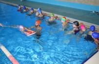 NİLÜFER - Kırsal Mahallelerdeki Çocuklar Yüzme Öğreniyor