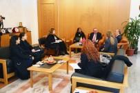 JUAN - Kolombiya Büyükelçisi Juan Alfredo Pinto Saavedra'dan Kayseri Valiliğine Ziyaret