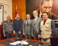 DOĞAN HABER AJANSı - Lapseki'de Basın Mensuplarından Jandarma Ve Emniyete Ziyaret
