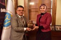 ANADOLU LİSESİ - Milli Eğitim Müdürü Durmuş'tan Başkan Yağcı'ya Ziyaret