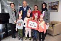 BANKA MÜDÜRÜ - Minik Öğrencilerden Suriyeli Akranlarına Anlamlı Bağış