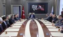 ASKERLİK ŞUBESİ - Muhtarlardan Başkan Gürkan'a 'Hayırlı Olsun' Ziyareti