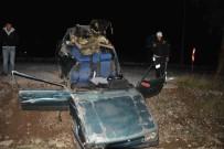 DALYAN - Ortaca'da Trafik Kazası; 2 Yaralı