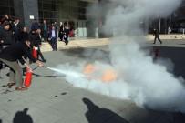 FİDAN YAZICIOĞLU - Özbelsan Personeline Yangın Eğitimi