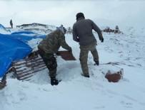Kato Dağı'nda hem terörle, hem de karla mücadele