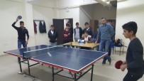 ANADOLU LİSESİ - Sincik'te Masa Tenisi Turnuvası Yapıldı
