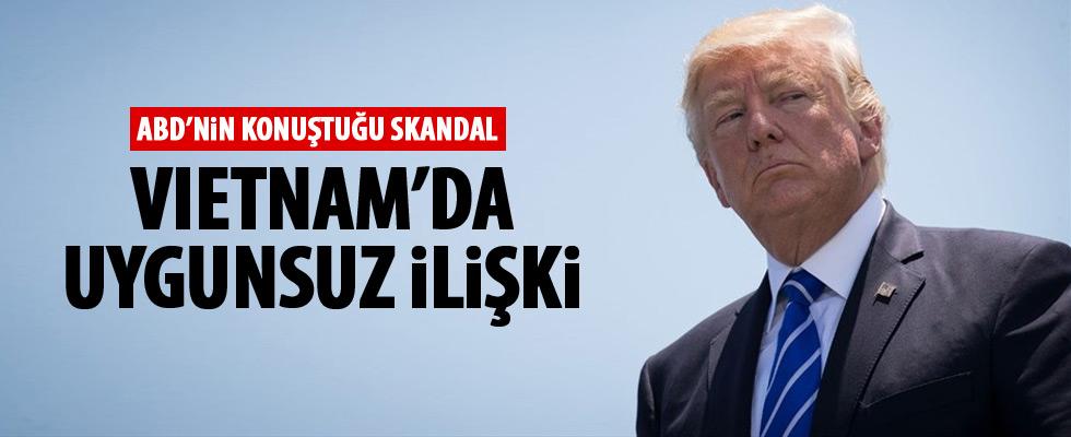 Trump'ın Asya gezisinde skandal