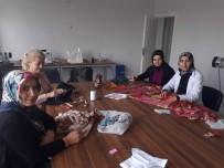 UMUTLU - Ulaş'ta Nakış Ve İğne Teknikerleri Kursu Açıldı
