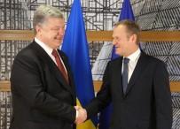 GÜRCİSTAN BAŞBAKANI - AB Konseyi Başkanı Donald Tusk, Ukrayna Devlet Başkanı Poroşenko İle Görüştü