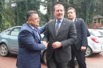 TÜRKİYE - AK Parti Genel Başkan Yardımcısı Karacan'dan Başkan Yağcı'ya Ziyaret