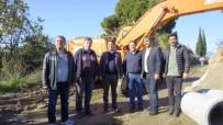 AHMET ÖZDEMIR - ASKİ'nin Bağarası'ndaki Çalışmaları Aralıksız Devam Ediyor