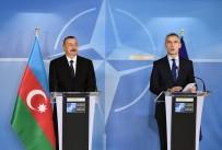 BASIN TOPLANTISI - Azerbaycan Cumhurbaşkanı İlham Aliyev, Stoltenberg İle Görüştü