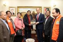 ŞANLIURFA - Bangladeş Afet Yönetimi Ve Yardım Bakanı Hüseyin Chowdhury Şanlıurfa'da