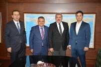 BAKAN YARDIMCISI - Başkan Yağcı'dan Kültür Ve Turizm Bakanlığı Ziyareti