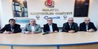 MUHALEFET PARTİLERİ - CHP Battalgazi İlçe Başkan Adayı Altunok'dan MGC'ye Ziyaret