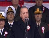 MISYON - Cumhurbaşkanı Erdoğan: Ordu sadece Türk milletinin ordusudur