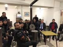 FEDAKARLıK - Develi Kaymakamı Duru Çay Ocağında Vatandaşlarla Buluştu