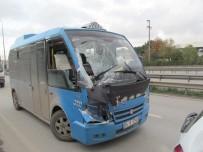 YOLCU MİNİBÜSÜ - Gebze'De Zincirleme Trafik Kazası Açıklaması 2 Yaralı
