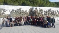 ŞEHİTLER ABİDESİ - Hasköylüler Çanakkale'yi Ziyaret Etti