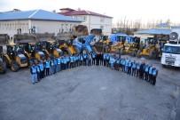 DAMPERLİ KAMYON - İpekyolu Belediyesi Karla Mücadeleye Hazır