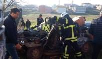KıRıM - Kamyonla Otomobil Çarpıştı Açıklaması 1 Ağır Yaralı