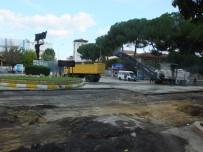 SICAK ASFALT - Nazilli'de Atatürk Bulvarı Yenileniyor