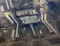 3. HAVALİMANI - 3. Havalimanı uçaktan görüntülendi