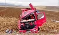 DİREKSİYON - Pancar Yüklü Kamyon Devrildi Açıklaması 1 Yaralı