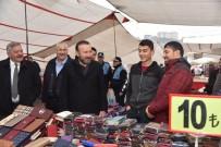 NEVZAT DOĞAN - Perşembe Pazarında Tezgahlar Dualarla Açıldı