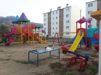 HÜSEYIN SÖZLÜ - Sözlü'den Tunceli Polis Lojmanlarına Oyun Parkı
