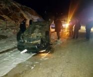 KARAHıDıR - Takla Atan Otomobilden Sağlam Çıktı