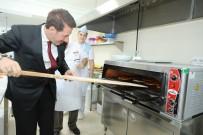 EĞİTİM MERKEZİ - Tok, Lahmacun Pişirdi