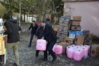 AY YıLDıZ - Trabzon'dan Güroymak'a Sevgi Eli