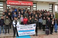 BOĞAZ TURU - Tunceli'de 600 Liseliye İstanbul, Ankara Ve İzmir Gezisi