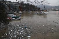 BALIKÇI ESNAFI - Zonguldak Limanı Sarıya Boyandı