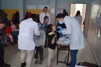 YÜKSEK TANSİYON - Ağız Ve Diş Sağlığı Haftasında Öğrencilere Eğitim Verildi