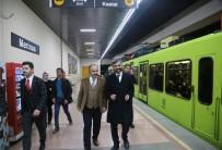 Aktaş Metroda Vatandaşları Dinledi