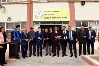 AHMET KARATEPE - Başkan Atilla'dan Okullara Bayrak Ve Fidan
