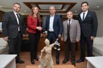 TÜRKER AKINCI - Başkan Uysal'a Meslektaş Ziyareti