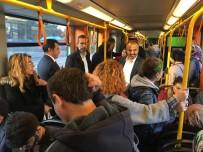 ULUDAĞ ÜNIVERSITESI REKTÖRÜ - Bursa'da Toplu Taşıma Ücretlerine Yüzde 10 İndirim Geldi